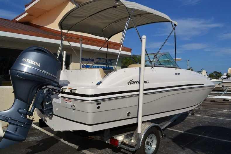 Image 6 for 2016 Hurricane SunDeck SD 187 OB in West Palm Beach, FL
