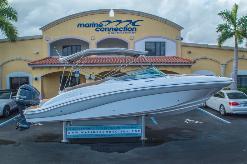 New 2016 Hurricane SunDeck SD 2690 OB boat for sale in West Palm Beach, FL