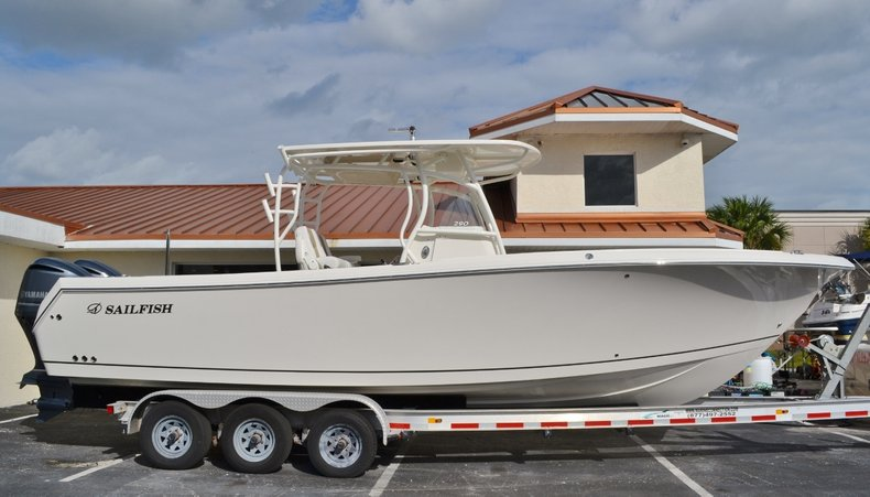 New 2016 Sailfish 290 CC Center Console boat for sale in West Palm Beach, FL
