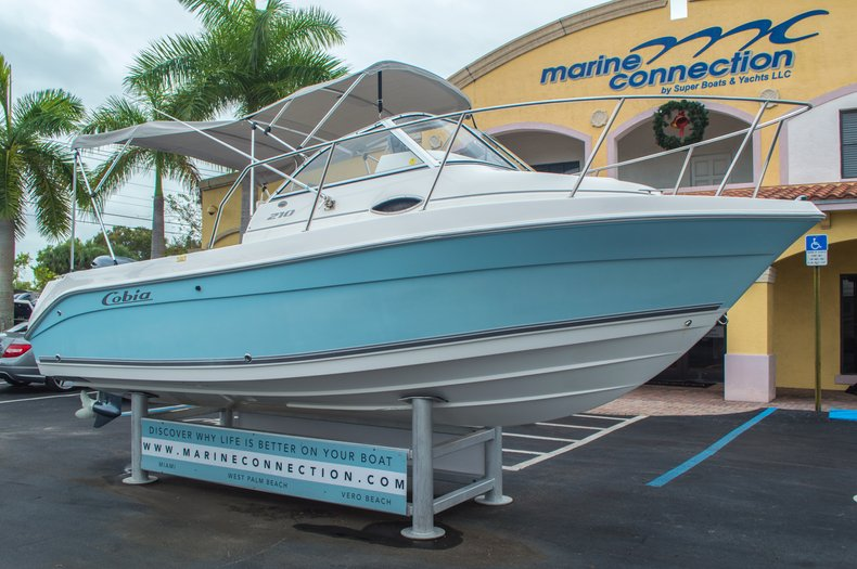 Thumbnail 1 for Used 2004 Cobia 210 WAC Walkaround boat for sale in West Palm Beach, FL