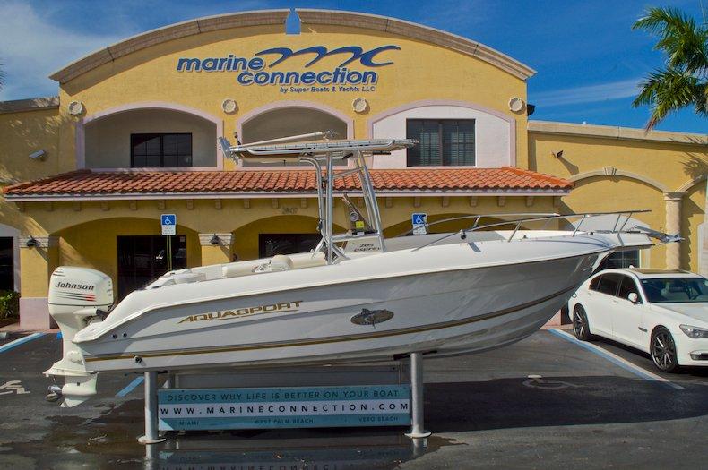 Used 2003 Aquasport 205 Osprey CC boat for sale in West Palm Beach, FL