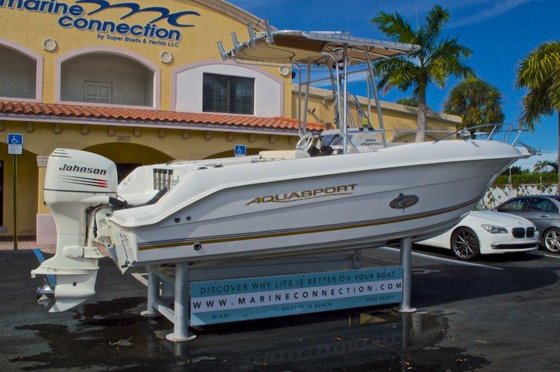 Thumbnail 8 for Used 2003 Aquasport 205 Osprey CC boat for sale in West Palm Beach, FL