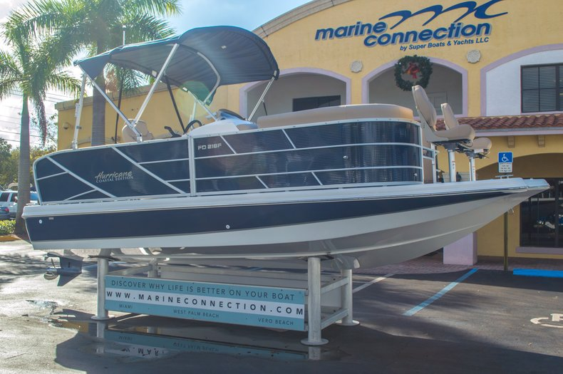 Thumbnail 1 for New 2016 Hurricane FunDeck FD 216 OB boat for sale in West Palm Beach, FL