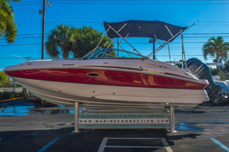 Thumbnail 5 for New 2016 Hurricane SunDeck SD 2200 OB boat for sale in West Palm Beach, FL