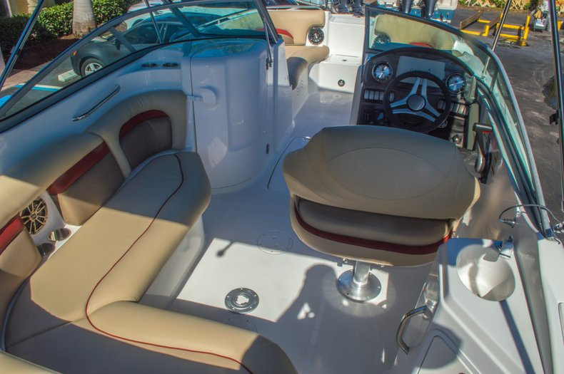 Thumbnail 12 for New 2016 Hurricane SunDeck SD 2200 OB boat for sale in West Palm Beach, FL