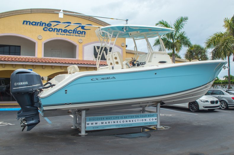 Thumbnail 9 for New 2016 Cobia 296 Center Console boat for sale in West Palm Beach, FL