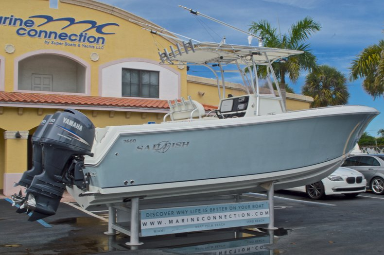Thumbnail 8 for Used 2008 Sailfish 2660 CC Center Console boat for sale in West Palm Beach, FL