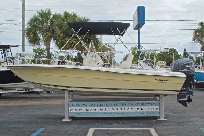 Thumbnail 5 for Used 2007 Sailfish 198 Center Console boat for sale in West Palm Beach, FL