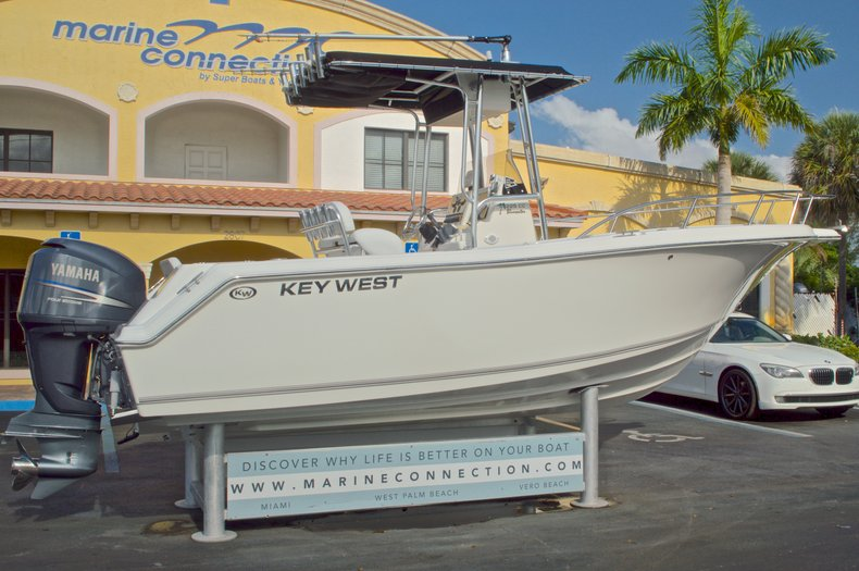 Thumbnail 8 for Used 2009 Key West 225 Center Console boat for sale in West Palm Beach, FL