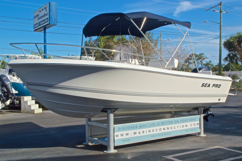 Thumbnail 3 for Used 2007 Sea Pro 186 Center Console boat for sale in West Palm Beach, FL