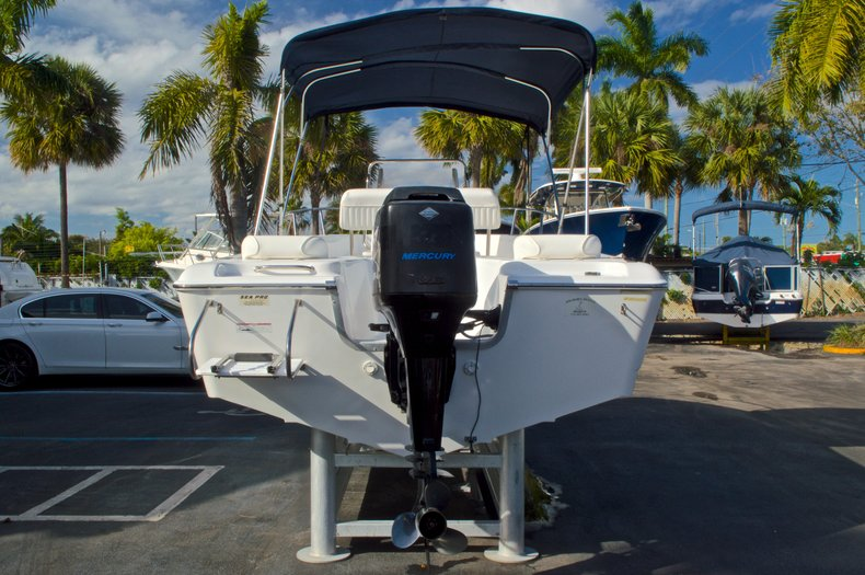 Thumbnail 6 for Used 2007 Sea Pro 186 Center Console boat for sale in West Palm Beach, FL
