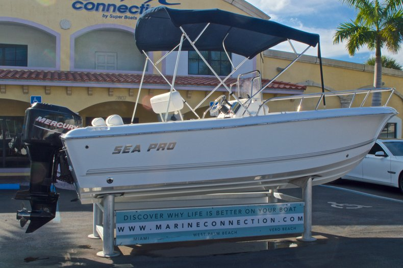Thumbnail 11 for Used 2007 Sea Pro 186 Center Console boat for sale in West Palm Beach, FL