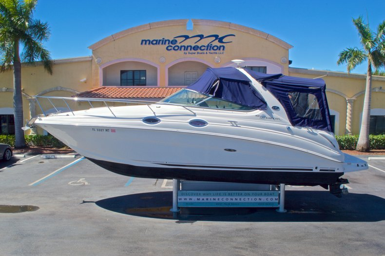 Used 2005 Sea Ray 280 Sundancer boat for sale in West Palm Beach, FL