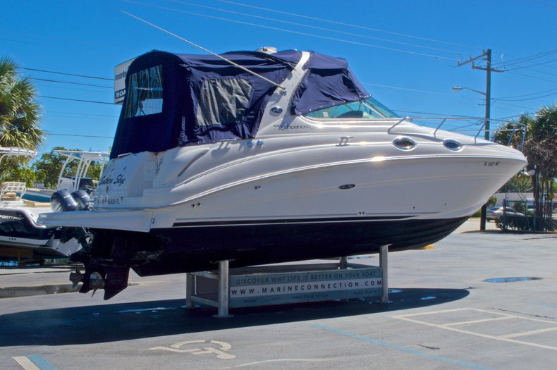 Thumbnail 3 for Used 2005 Sea Ray 280 Sundancer boat for sale in West Palm Beach, FL