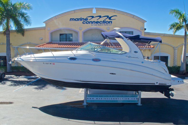 Thumbnail 7 for Used 2005 Sea Ray 280 Sundancer boat for sale in West Palm Beach, FL