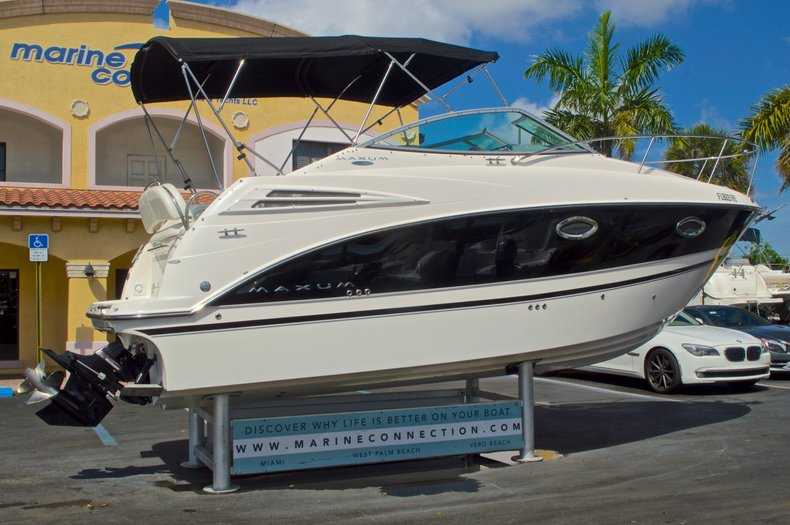 Thumbnail 8 for Used 2007 Maxum 2400 SE boat for sale in West Palm Beach, FL