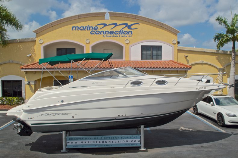 Used 2002 Monterey 262 Cruiser boat for sale in West Palm Beach, FL