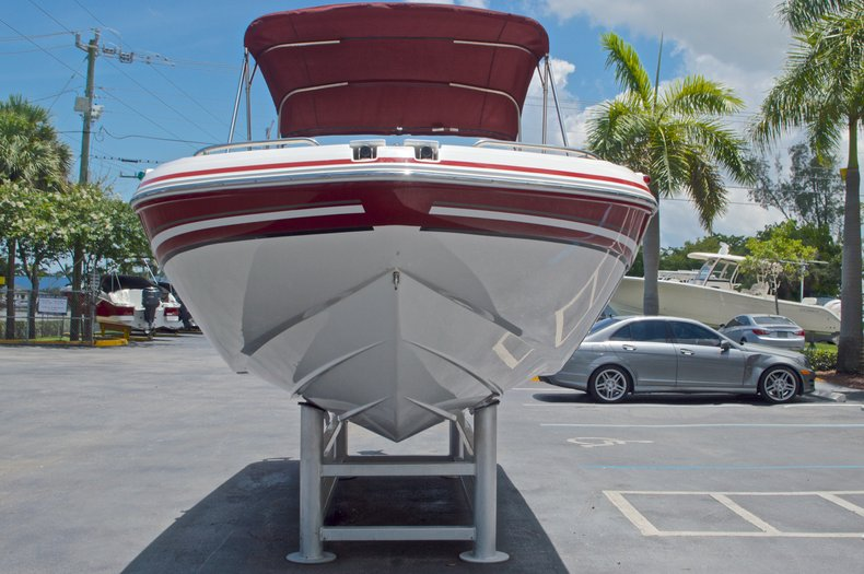 Thumbnail 2 for Used 2014 Hurricane SunDeck Sport SS 220 OB boat for sale in West Palm Beach, FL