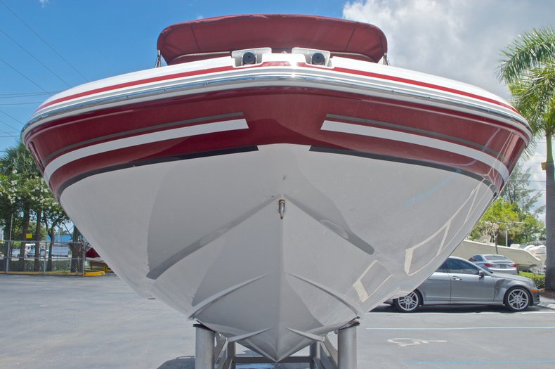 Thumbnail 3 for Used 2014 Hurricane SunDeck Sport SS 220 OB boat for sale in West Palm Beach, FL
