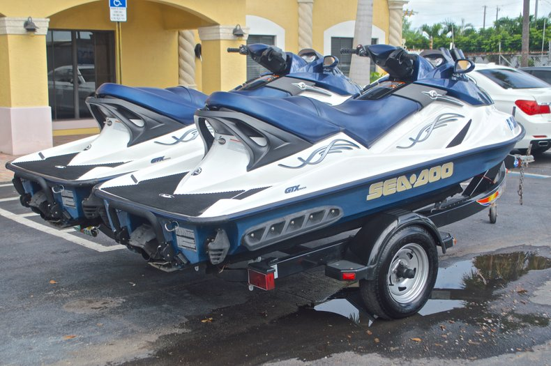 Thumbnail 7 for Used 2005 Sea-Doo GTX 4-Tec boat for sale in West Palm Beach, FL