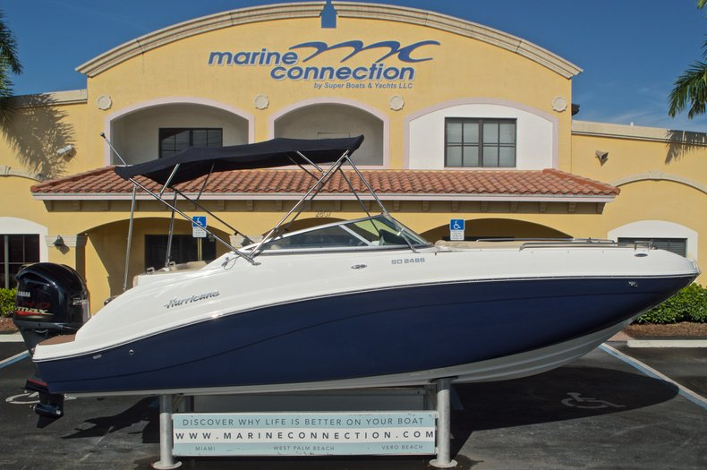 New 2016 Hurricane SunDeck SD 2486 OB boat for sale in West Palm Beach, FL