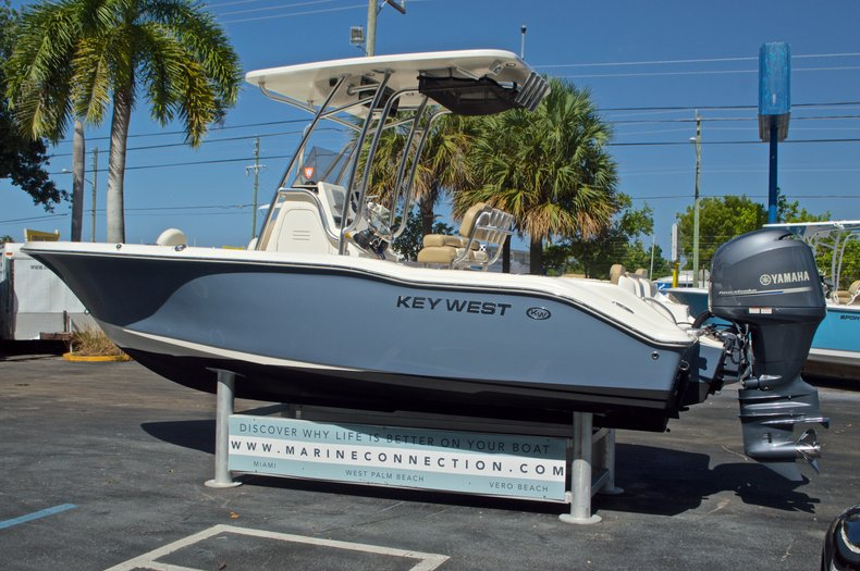 Thumbnail 6 for Used 2014 Key West 219 FS Center Console boat for sale in West Palm Beach, FL