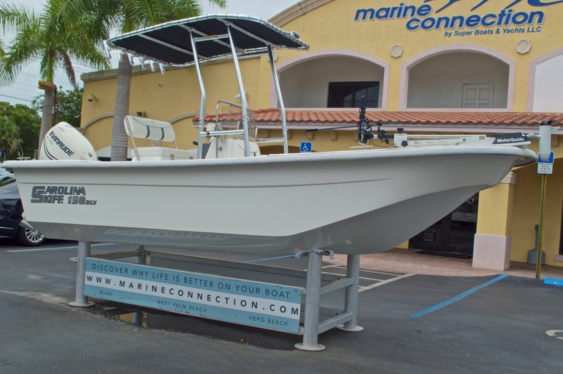 Thumbnail 1 for Used 2008 Carolina Skiff 198DLV boat for sale in West Palm Beach, FL