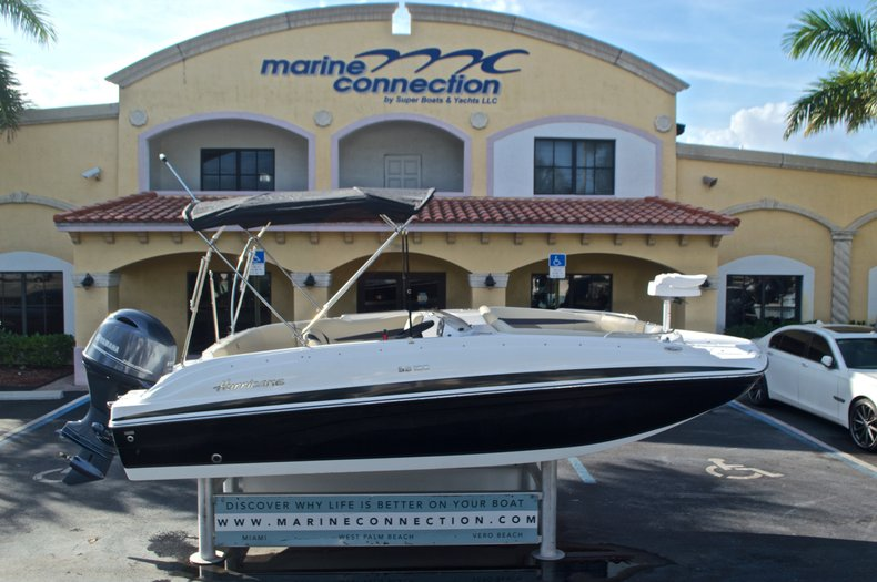 New 2017 Hurricane SunDeck Sport SS 188 OB boat for sale in West Palm Beach, FL
