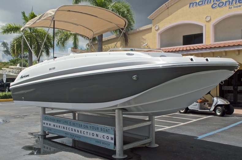 Image 1 for 2017 Hurricane SunDeck Sport SS 188 OB in West Palm Beach, FL