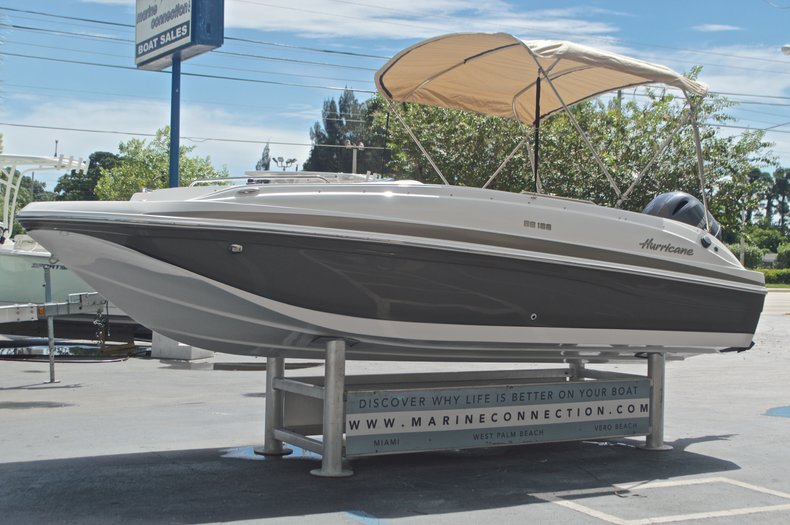 Image 3 for 2017 Hurricane SunDeck Sport SS 188 OB in West Palm Beach, FL