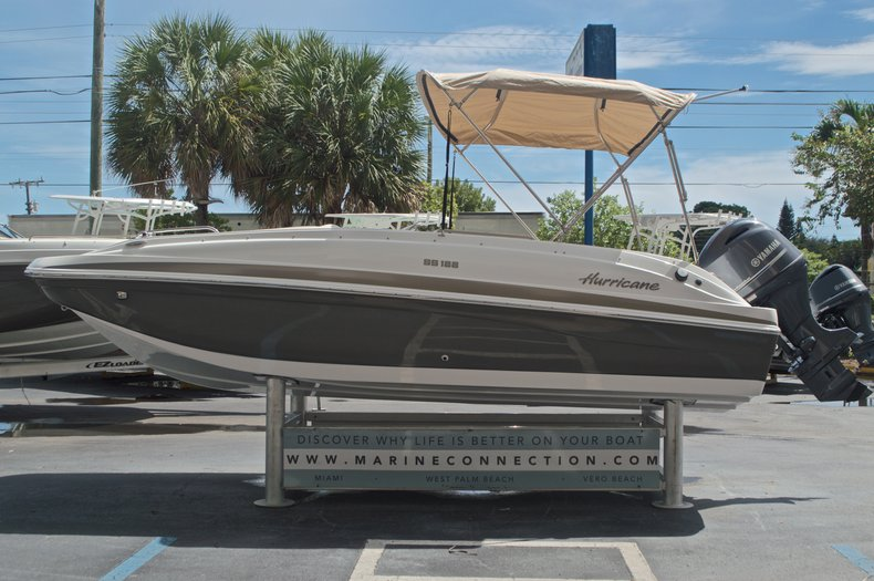 Image 4 for 2017 Hurricane SunDeck Sport SS 188 OB in West Palm Beach, FL