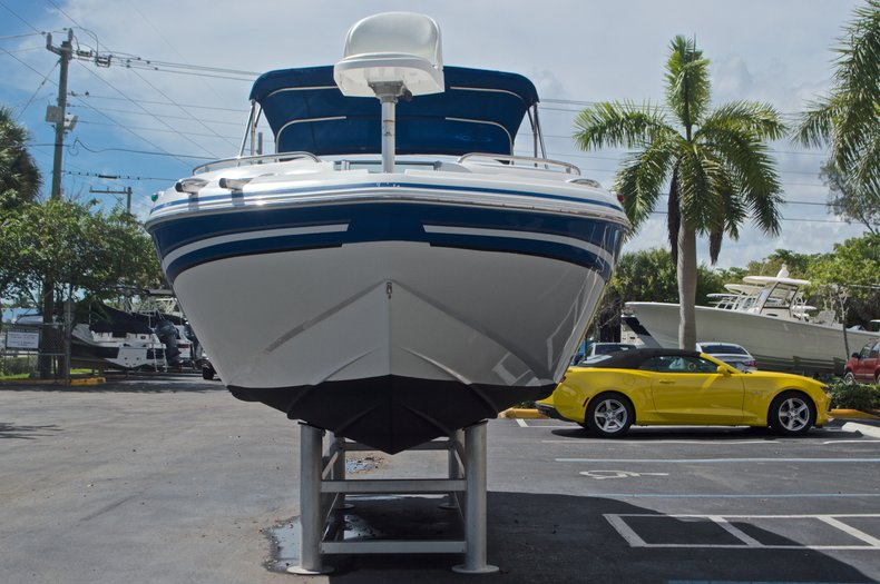Thumbnail 2 for Used 2013 Hurricane SunDeck SD 2400 OB boat for sale in West Palm Beach, FL