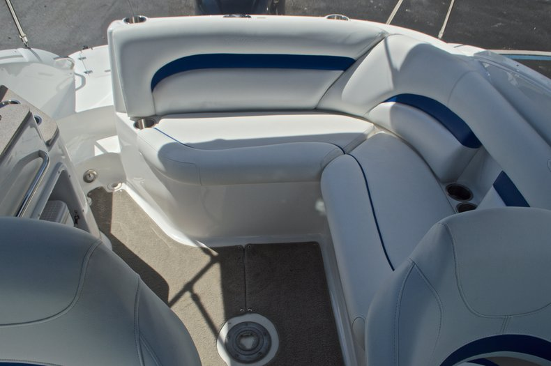 Thumbnail 21 for Used 2013 Hurricane SunDeck SD 2400 OB boat for sale in West Palm Beach, FL