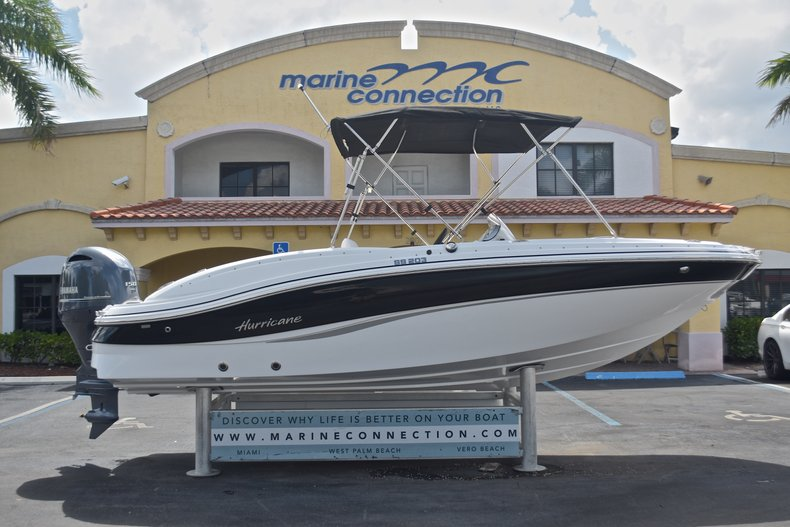 New 2017 Hurricane 203 SunDeck Sport OB boat for sale in West Palm Beach, FL