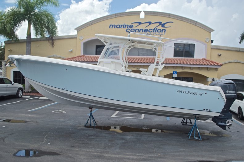 Thumbnail 0 for Used 2015 Sailfish 320 CC Center Console boat for sale in West Palm Beach, FL