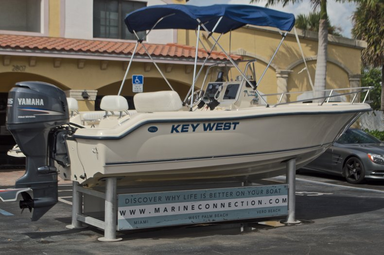 Thumbnail 7 for Used 2004 Key West 186 Sportsman boat for sale in West Palm Beach, FL