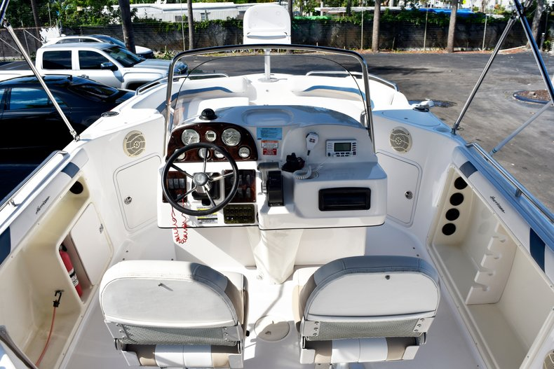 Thumbnail 15 for Used 2004 Hurricane GS211 FunDeck boat for sale in West Palm Beach, FL