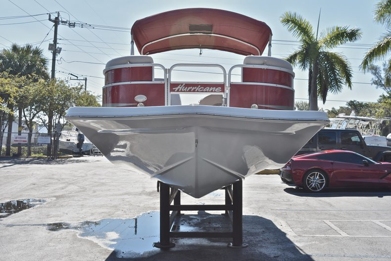 Thumbnail 2 for Used 2015 Hurricane FunDeck FD 236 OB boat for sale in West Palm Beach, FL
