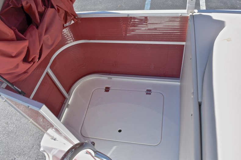 Thumbnail 13 for Used 2015 Hurricane FunDeck FD 236 OB boat for sale in West Palm Beach, FL