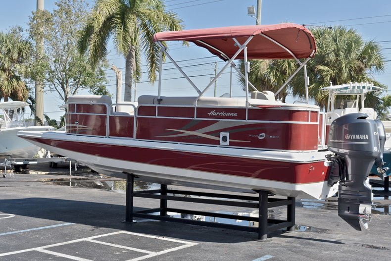 Thumbnail 5 for Used 2015 Hurricane FunDeck FD 236 OB boat for sale in West Palm Beach, FL