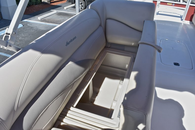 Thumbnail 18 for Used 2015 Hurricane FunDeck FD 236 OB boat for sale in West Palm Beach, FL