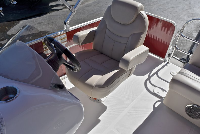 Thumbnail 23 for Used 2015 Hurricane FunDeck FD 236 OB boat for sale in West Palm Beach, FL