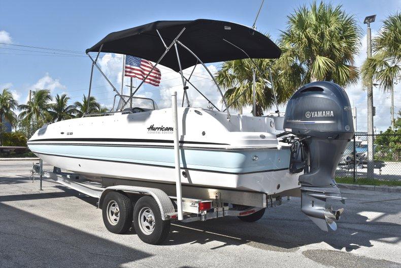 Thumbnail 5 for New 2018 Hurricane 231 SunDeck Sport OB boat for sale in Vero Beach, FL