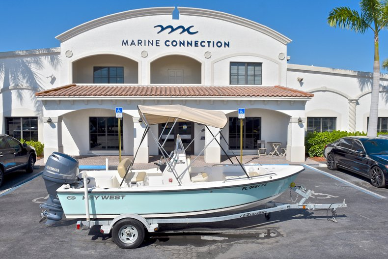 Used 2016 Key West 1720 Sportsman Center Console boat for sale in West Palm Beach, FL