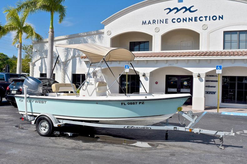 Thumbnail 1 for Used 2016 Key West 1720 Sportsman Center Console boat for sale in West Palm Beach, FL