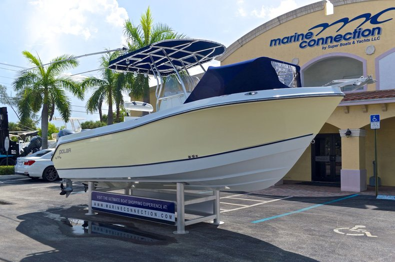 Used 2005 Polar 2300 Center Console Boat For Sale In West