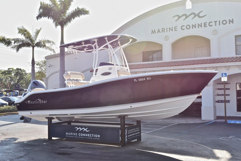 Thumbnail 1 for Used 2016 NauticStar 2302 Legacy CC boat for sale in West Palm Beach, FL