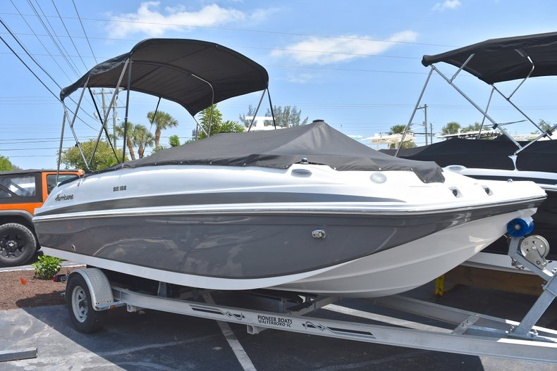 New 2018 Hurricane 188 SunDeck Sport OB boat for sale in West Palm Beach, FL