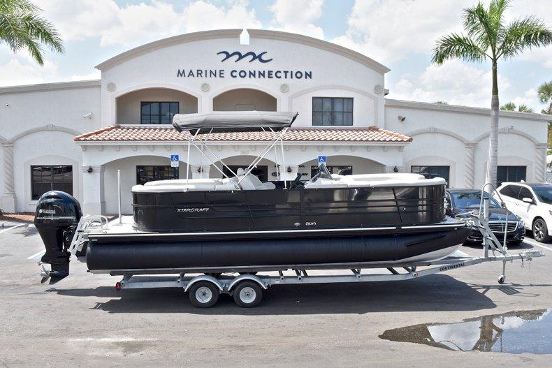 Used 2015 Starcraft SLS 3 Pontoon boat for sale in West Palm Beach, FL