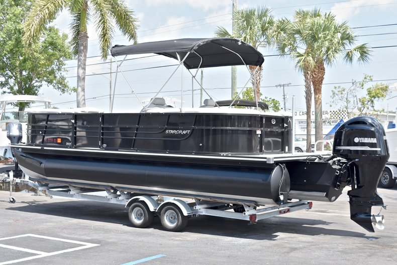 Thumbnail 6 for Used 2015 Starcraft SLS 3 Pontoon boat for sale in West Palm Beach, FL
